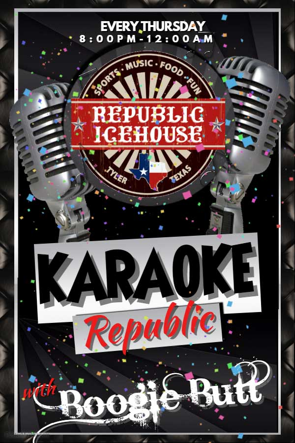 Republic Ice House Karaoke Night